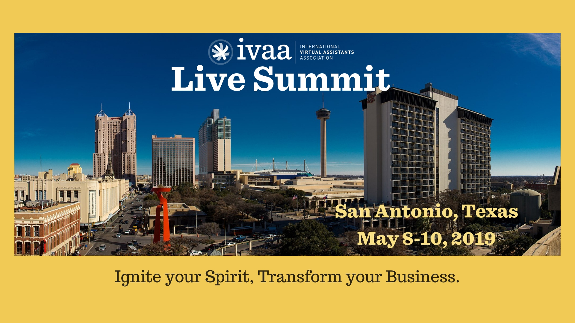 Websites are on the Agenda for the IVAA Live Summit