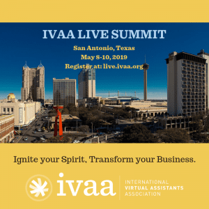 ivaa live summit conference for virtual assistants