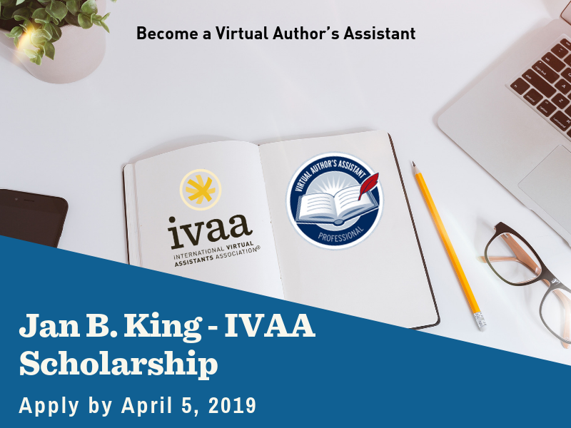 Jan B. King IVAA Memorial Scholarship for Author's Assistants