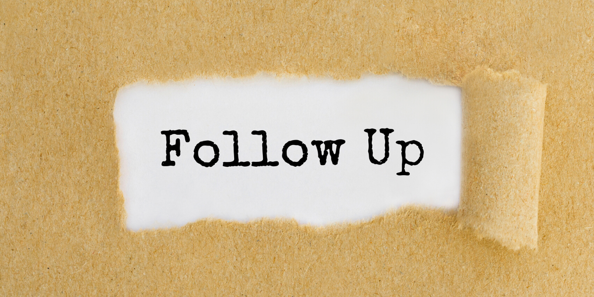 How to Follow Up for Success